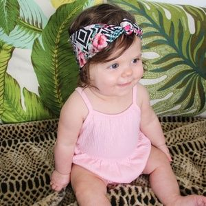Other - Tropical Baby Knot Headband